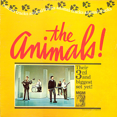 The Animals - Animal Tracks